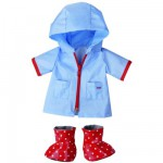 Vêtements  pour poupée de 38 cm :  Gouttes de Pluie