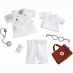 Vêtements pour poupée Haba 30 et 34 cm : Ensemble de vêtements Doctoresse