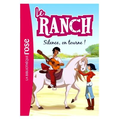 la biblioth que rose le ranch tome 6 silence on tourne jeux et jouets hachette jeunesse. Black Bedroom Furniture Sets. Home Design Ideas