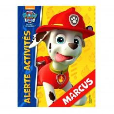 Livre d'activités Pat'Patrouille (PAW Patrol) : Marcus