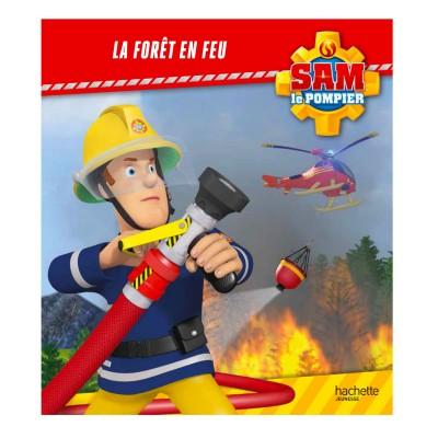 livre illustr sam le pompier la f ret en feu jeux. Black Bedroom Furniture Sets. Home Design Ideas