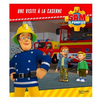 livre illustr sam le pompier une visite la caserne. Black Bedroom Furniture Sets. Home Design Ideas