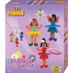 Boîte de 2500 perles et plaques Hama Midi : Ronde des ballerines