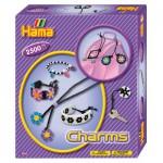 Boîte de 2500 perles et plaques Hama Midi : Bijoux