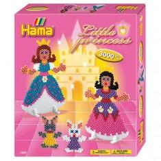 Boîte de 3000 perles et plaques Hama Midi : Les petites princesses