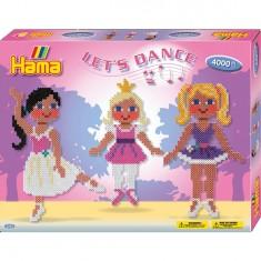 Boîte de 4000 perles et plaques Hama Midi : Danses du monde