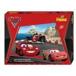 Boîte de 4000 perles et plaques Hama Midi : Flash McQueen et Francesco
