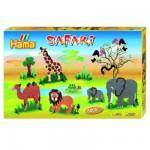Boîte de 5000 perles et plaques Hama Midi : Safari
