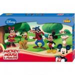 Boîte de 6000 perles et plaques Hama Midi : Mickey Mouse et ses amis