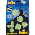 Boite de perles Hama Midi Technique à repasser : Phosphorescent