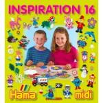 Perles à repasser Hama Midi : Livre d'inspiration 16 : 68 pages