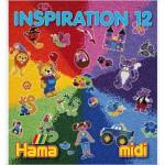 Perles à repasser Hama Midi  Livre d'inspiration 12 : 64 pages