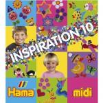 Perles à repasser Hama Midi  Livre d'inspiration 10 : 64 pages