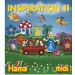 Perles à repasser Hama Midi  Livre d'inspiration 11 : 64 pages