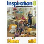 Perles à repasser Hama Midi  Livre d'inspiration 8 : 64 pages