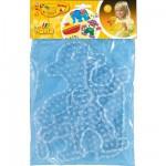 Plaques pour perles à repasser Hama Maxi : Singe/Bateau