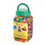 Pot de 2300 perles Hama Maxi : Perles Mix