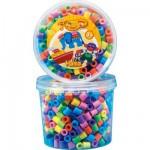 Pot de 600 perles Hama Maxi : Perles pastel
