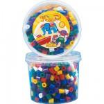 Pot de 600 perles Hama Maxi : Perles vives
