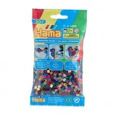 Sachet de 1000 perles Hama Midi : Mélange 22 couleurs