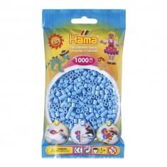 Sachet de 1000 perles à repasser Hama : Bleu