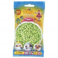 Sachet de 1000 perles à repasser Hama : Vert
