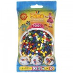 Sachet de 1000 perles Hama Midi : 6 couleurs