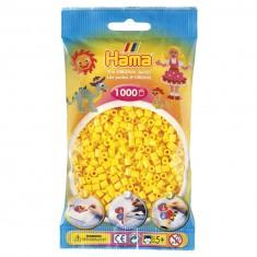 Sachet de 1000 perles Hama Midi : Jaune