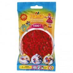 Sachet de 1000 perles Hama Midi : Rouge Noël