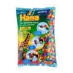 Sachet de 3000 perles Hama Midi : Fluo