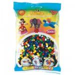 Sachet de 3000 perles Hama Midi : 6 couleurs