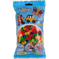 Sachet de 500 perles Hama Maxi : Perles néons
