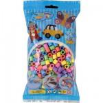 Sachet de 500 perles Hama Maxi : Perles pastel