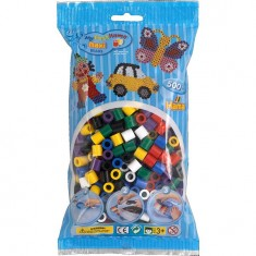 Sachet de 500 perles Hama Maxi : Perles vives