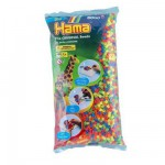 Sachet de 6000 perles Hama Midi : Fluo mixte