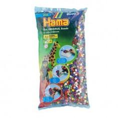 Sachet de 6000 perles Hama Midi : 22 couleurs