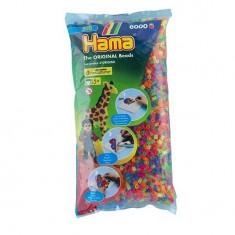 Sachet de 6000 perles Hama Midi : Néon mixte