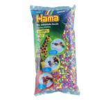 Sachet de 6000 perles Hama Midi : Pastel mixte