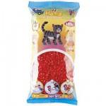 Sachet de 6000 perles Hama Midi : Rouge