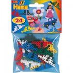 Supports pour motifs en perles à repasser Hama Midi : Lot de 24