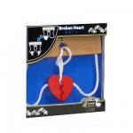 Casse-tête en bois Eurêka : Broken heart
