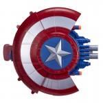 Bouclier Captain America avec tireur de fléchettes Nerf