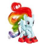 Figurine articulée magique My Little pony : Rainbow Dash, Visite touristique