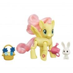 Figurine articulée My Little Pony : Fluttershy : Cueillette de fleurs