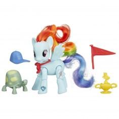 Figurine articulée My Little Pony : Rainbow Dash : Coup gagnant