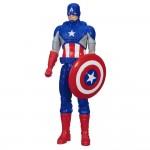 Figurine Avengers : Série Héros Titan 30 cm : Captain America