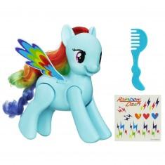Figurine électronique Mon Petit Poney : Rainbow Dash saute et vole