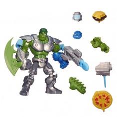 Figurine Marvel Super Hero Mashers Deluxe : Hulk poing fracassant