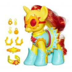 Figurine Mon Petit Poney : Beauté et accessoires : Sunset Shimmer