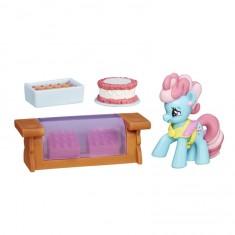 Figurine Mon Petit Poney  : Les amies c'est magique : Mrs Dazzle Cake